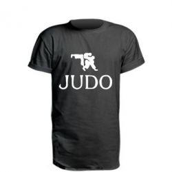 Удлиненная футболка Judo