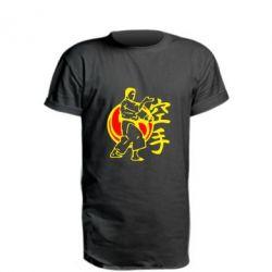 Подовжена футболка 4803