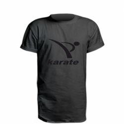 Удлиненная футболка Karate