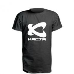 Удлиненная футболка Каста