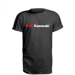 Подовжена футболка Kawasaki Logo