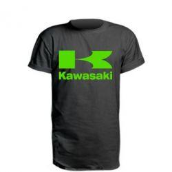 Удлиненная футболка Kawasaki