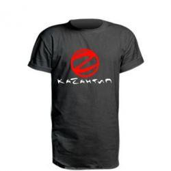 Удлиненная футболка Казантип
