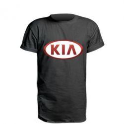 Подовжена футболка KIA 3D Logo
