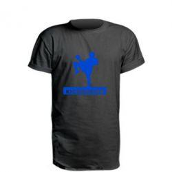 Удлиненная футболка Kickboxing Fighter