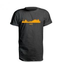 Удлиненная футболка KIEV