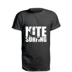 Подовжена футболка Kitesurfing