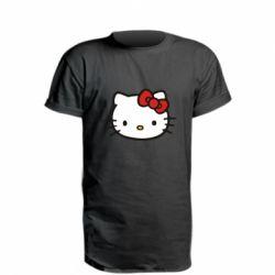Удлиненная футболка Kitty