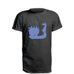 Удлиненная футболка Кий,Щек,Хорив - FatLine
