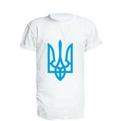 Подовжена футболка Класичний герб України