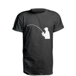 Удлиненная футболка Клюёт! - FatLine