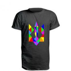 Удлиненная футболка Кольоровий герб