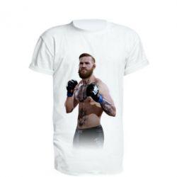 Удлиненная футболка Конор МакГрегор, FatLine  - купить со скидкой