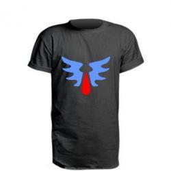 Удлиненная футболка Кровавые Ангелы - WarHammer