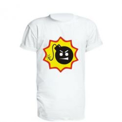 Удлиненная футболка Крутой Сем