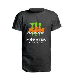 Удлиненная футболка KTM Monster Enegry