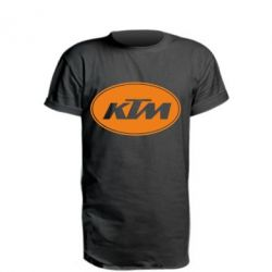 Подовжена футболка KTM