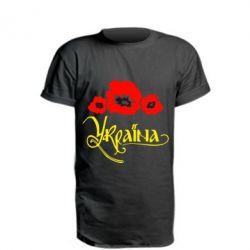 Удлиненная футболка Квітуча Україна