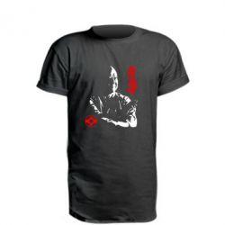 Подовжена футболка Kyokushin Kanku logo