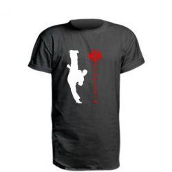 Удлиненная футболка Kyokushin Kick