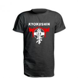 Удлиненная футболка Kyokushin