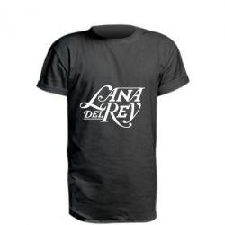 Подовжена футболка Lana Del Rey
