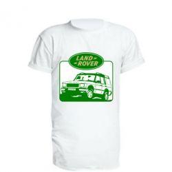 Подовжена футболка Land Rover