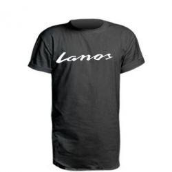 Удлиненная футболка Lanos Logo
