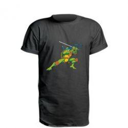 Удлиненная футболка Leo - FatLine