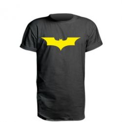 Подовжена футболка кажан