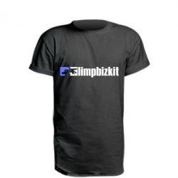 Подовжена футболка Limp Bizkit