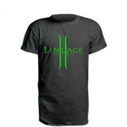 Удлиненная футболка Lineage ll
