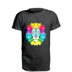Удлиненная футболка Lion vector