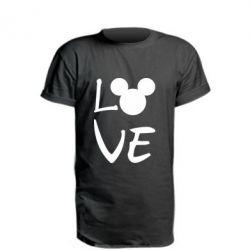 Подовжена футболка Love Mickey Mouse (male)