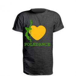 Подовжена футболка Love Pole Dance
