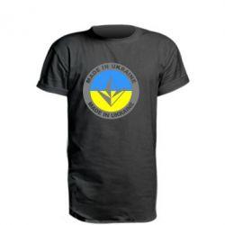 Удлиненная футболка Made in Ukraine - FatLine