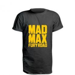 Удлиненная футболка MadMax