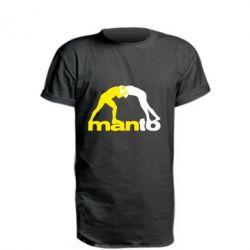 Удлиненная футболка Manto