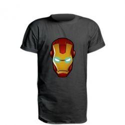 Удлиненная футболка Маскаа Железного Человека