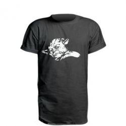 Подовжена футболка Майстер Йода