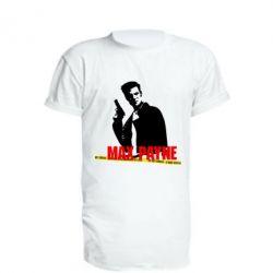 Подовжена футболка Max Payne
