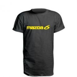 Удлиненная футболка Mazda 6 - FatLine