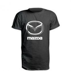 Подовжена футболка Mazda Logo