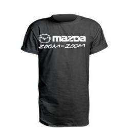 Подовжена футболка Mazda Zoom-Zoom