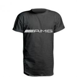 Подовжена футболка Mercedes-AMG (металік)
