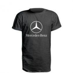 Удлиненная футболка Mercedes Benz