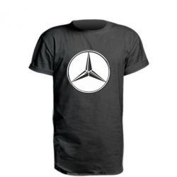 Подовжена футболка Mercedes