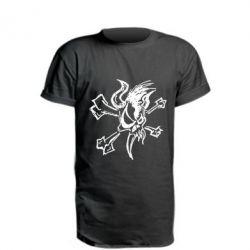 Удлиненная футболка Metallica Scary Guy
