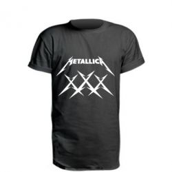 Подовжена футболка Metallica XXX