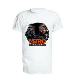 Удлиненная футболка Metro: Redux